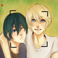 Alois and Ciel: Say Cheese by DecemberComes
