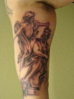 portrait of angels black and g by Mariotattoos
