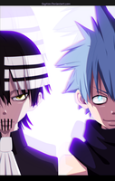 Soul Eater - Kid and Black Star by SeyNox