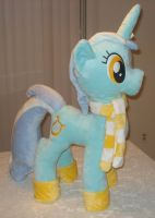 Wintertime Lyra Heartstrings Plush - For Sale by PantherPawCreations