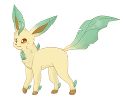 Leafeon by FR0STBIITE