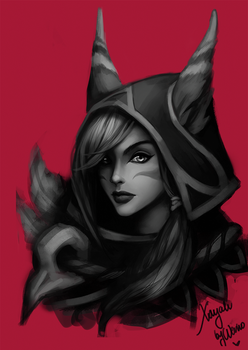 Xayah by Wernope