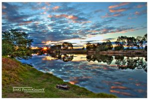 Mitchell River Sunset HDR v2 by jawg1982