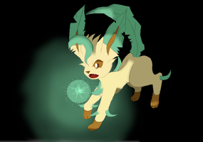 Leafeon by AveryMar