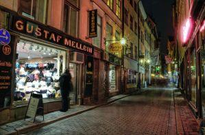 Old Town by Night III by HenrikSundholm