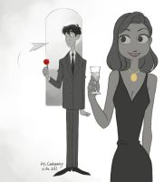 Paperman by Cadycassy