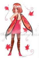 Autumn Faerie by SeraphimFeathers