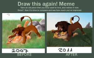 Draw this again Meme by Dalamar89
