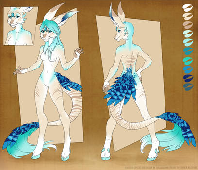 #007 - Female - Water - FOR SALE by Taielias-Bane