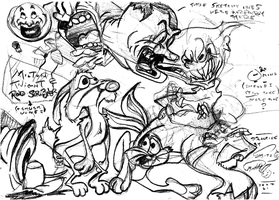 SKITS' CONSTRUCTION ENERGY SKETCHES (1st Batch) by SKITS--O