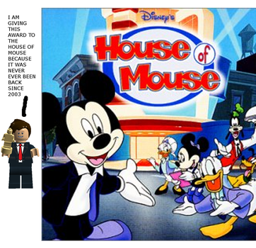 In memoury award:house of mouse by nmort69
