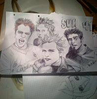 Sum 41 - because attention in class is an optional by RinoaKH