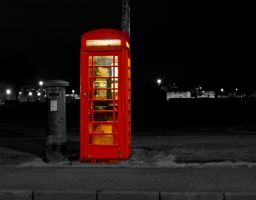 Phone Box by BusterBrownBB