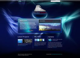 DV Web Layout by DuckyVader