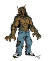werewolf color by grifth