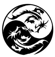 Dragon Ying Yang by partalien0