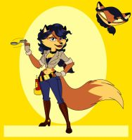 Inspector Carmelita Montoya Fox by The-Manga-Goddess
