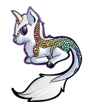 Klaora sticker Shaded by xAribelle