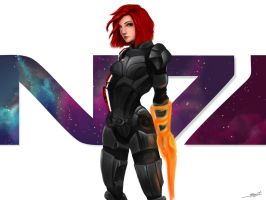 This is my favorite day on the Citadel: N7 vol 2 by Shaya-Fury