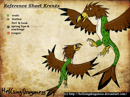 Reference Sheet Krenex by HellsingDragoness