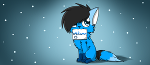 Welcome! by Skythekittydrawings