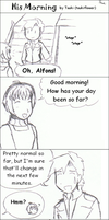 His Morning by tsukiflower