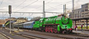 Green locomotive by AnkaAI3