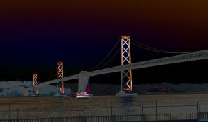 San Francisco Oakland Bay Bridge 05 by abelamario