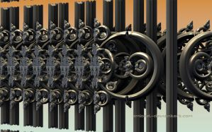 Fence Decoration by eMBeeL