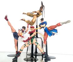 Play Arts kai - Street Fighter Females by 0PT1C5