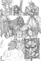 Something Evil page 15 pencils by RudyVasquez