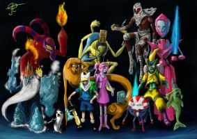 adventure time new vision by joelmbello