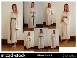 Kiana Pack 1 by mizzd-stock