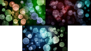 Mini Bokeh Pack: 1920x1080 by abluescarab
