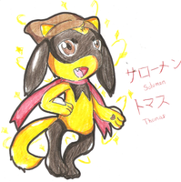 My Shiny Little Riolu by Inoune