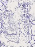 Princess and Knight Pencil by jan-scolors