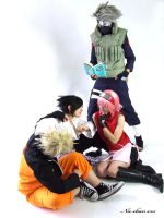 Team 7 shippuden 2 by Suki-Cosplay