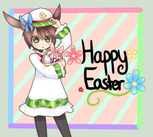 .:Happy Easter:. by InkHeartPaw