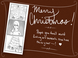 Christmas Card 2014 by CrypticGrin