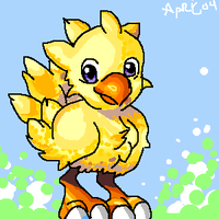 Chocobo by bluelights