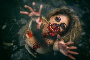 ZOMBIE by azime-make-up