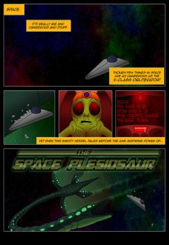Guest Page for Area 42 - Space Plesiosaur! by Poharex