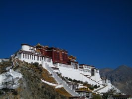 Potala Palace, Lhasa, Tibet by hardwayjackson