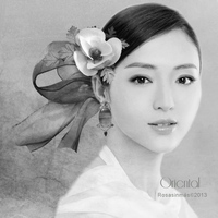 Oriental- Black and White by ROSASINMAS
