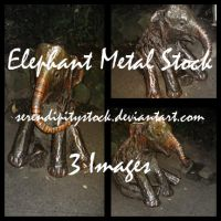 Elephant Metal Stock Pack by SerendipityStock