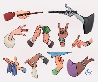 Hands 2 by LuigiL