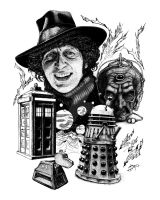 Doctor Who - Davros by iancan