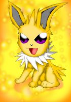 Cute Jolteon by NIGHTSandTAILSFAN