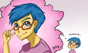 Milhouse...someday by SNathy