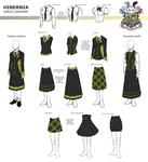 HIBERNIA Girl's Uniform by Elysian-Academy